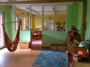 Kindergarten - Bauzimmer